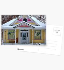 Christmas Gingerbread Postcards