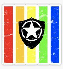 TrueColor-Security-Black Sticker