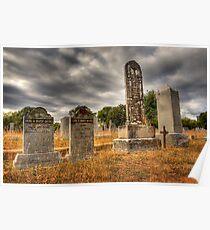 Casner Gravestones Poster
