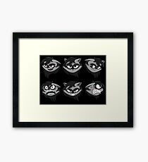 Expressive Raccoon Framed Print