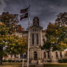 Parker County Courthouse by Terence Russell