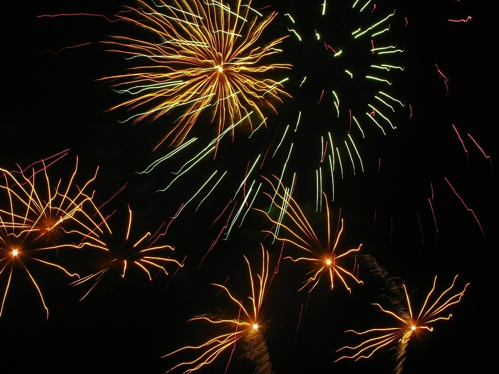 Fireworks 10 by Yvonne Carsley