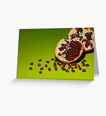Departed Greeting Card