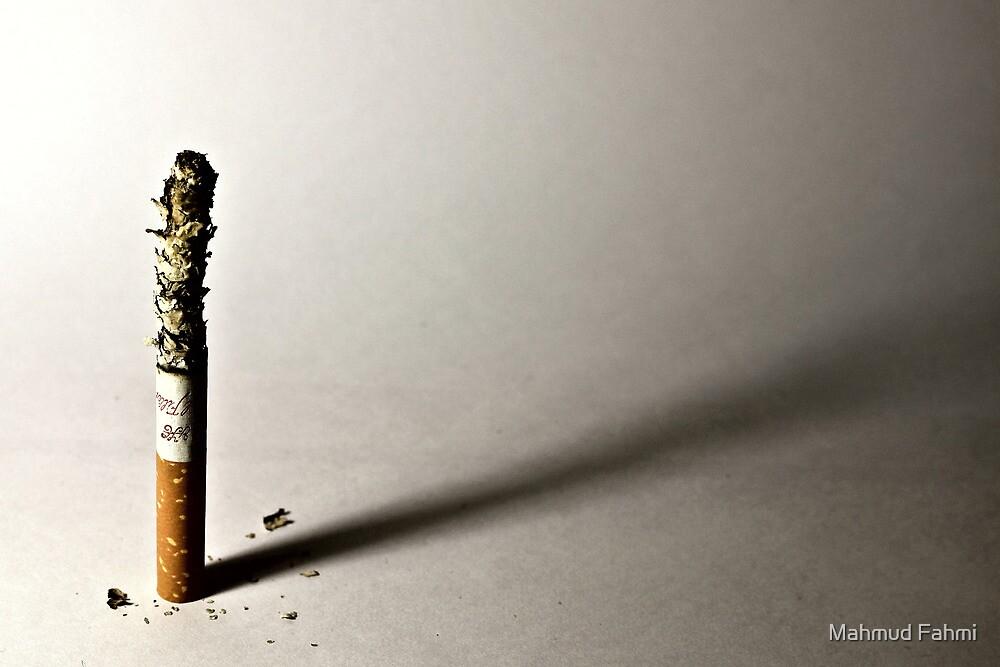 Burning Cigarette  by Mahmud Fahmi