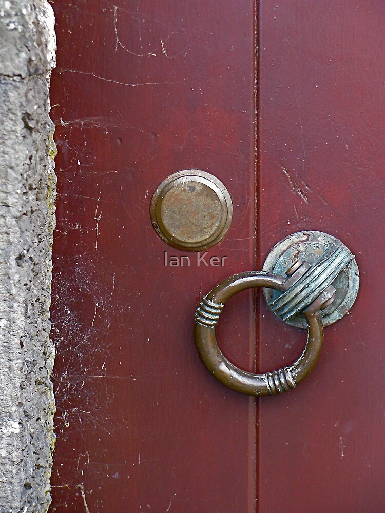 Door Detail at Lake Vyrnwy by Ian Ker