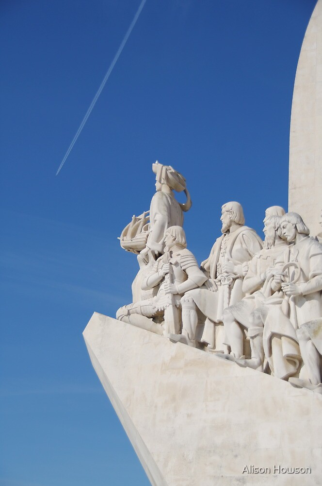 Maritime Monument - Lisbon by Alison Howson