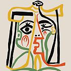 Picasso - Woman's head #1 by ShaMiLaB