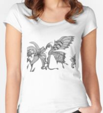 Fey Dragon Women's Fitted Scoop T-Shirt