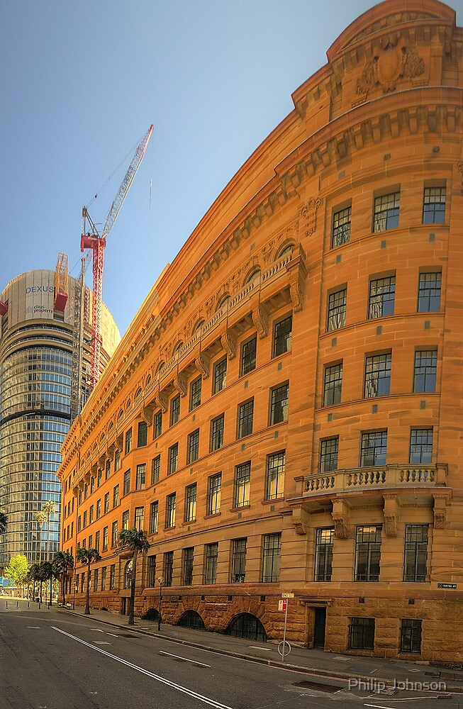 Around The Corner - Department of Education Building - The HDR Experience by Philip Johnson