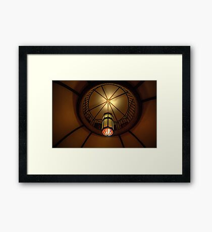 Light of Art Deco  - BMA House c1929-30 - The HDR Experience Framed Print