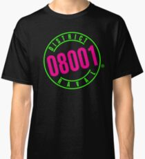 RAVAL DISTRICT 08001 vs. BEVERLY HILLS 90210 Classic T-Shirt