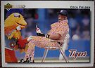 501 - Cecil Fielder by Foob's Baseball Cards