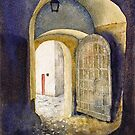 Castle Doorway, Salzburg by Joe Cartwright