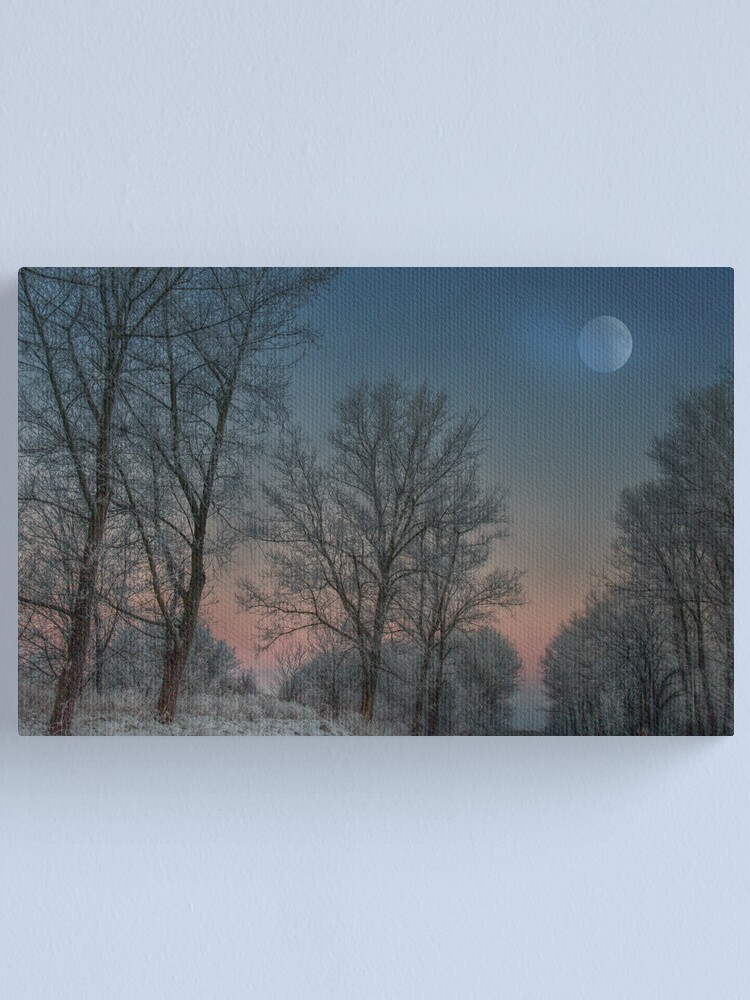Alternate view of Christmas way Canvas Print