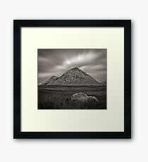 Echoes of Mountain-ness Framed Print