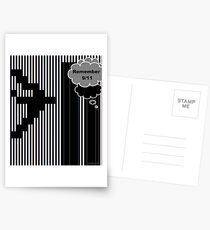 9/11 Ascii Postcards