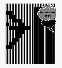 9/11 Ascii Photographic Print