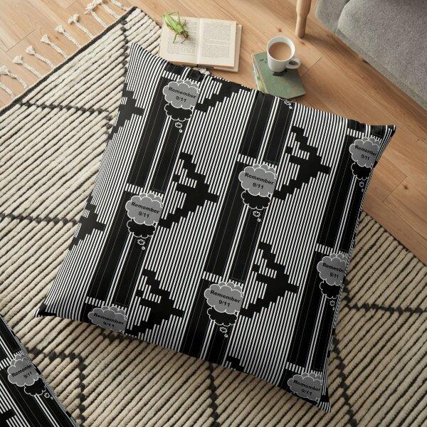 9/11 Ascii Floor Pillow
