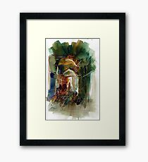 Movement of learning Framed Print