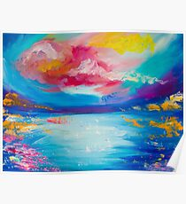 Colourful Abstract Patterns  Poster