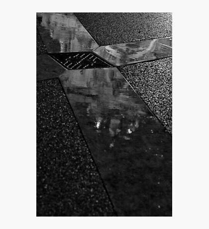 Dark and wet Photographic Print