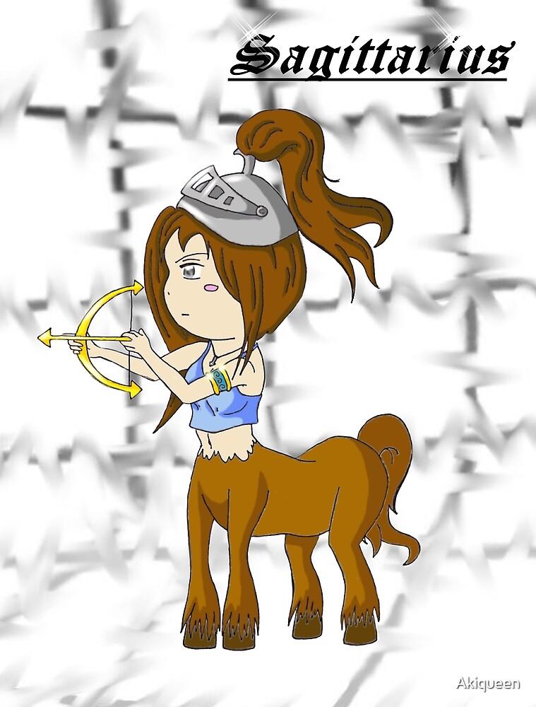 zodiac sign: Sagittarius* by Akiqueen