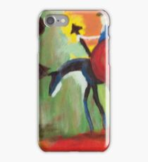 Don Quijote and the Windmill iPhone Case/Skin