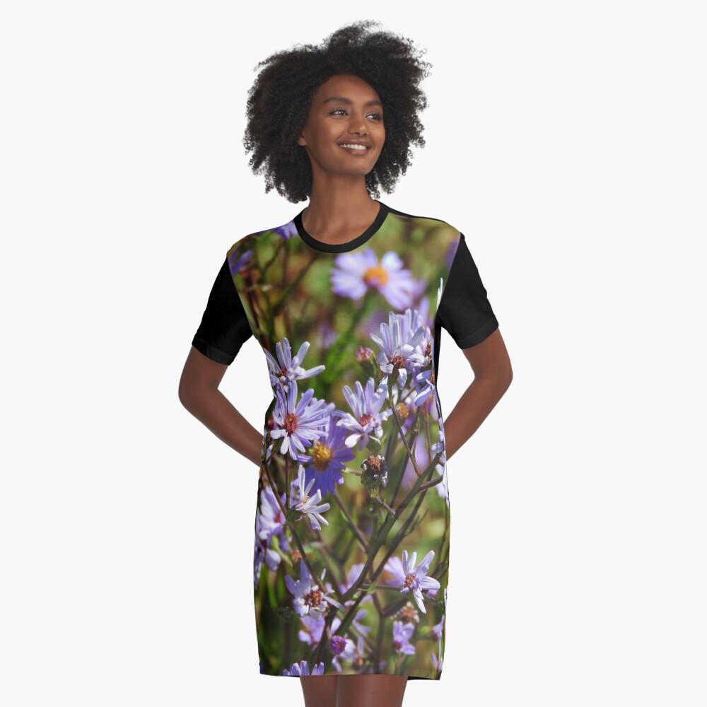 Purple Daisy's Graphic T-Shirt Dress