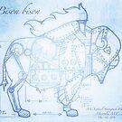 Steampunk Bison by Sun Dog Montana