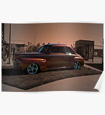1946 Ford Coupe Poster