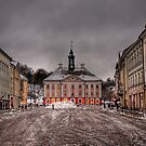 Town Hall & Town Square - Tartu, Estonia by NeilAlderney