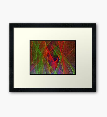 Unwrapping X'mas  Framed Print