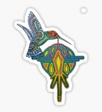 hummingbird - 2010 as tshirt Sticker