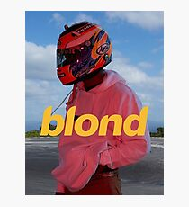 Frank Ocean Blond Photographic Print