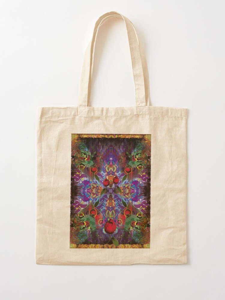 Alternate view of Vision with Tulips Tote Bag