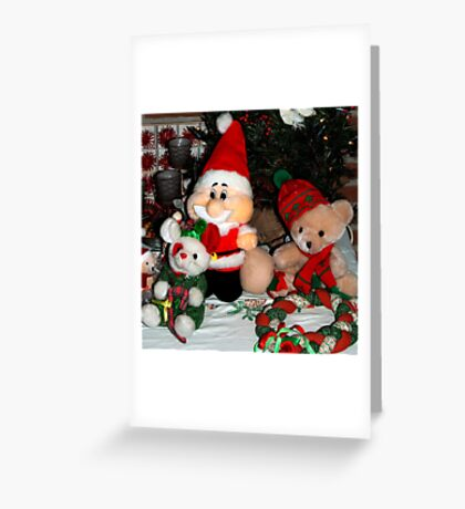 All ready for Xmas Greeting Card