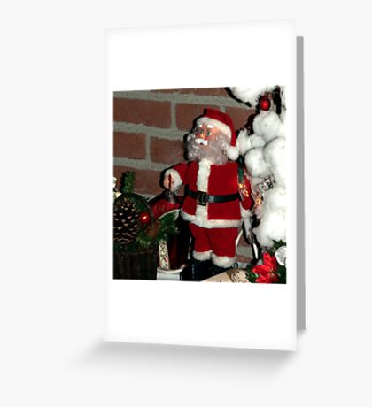 OMG, what are those reindeer doing up there?! Greeting Card