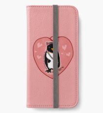 Pink Kitty Penguin iPhone Wallet/Case/Skin
