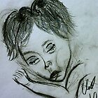 My Daughter Asleep... by C. Rodriguez