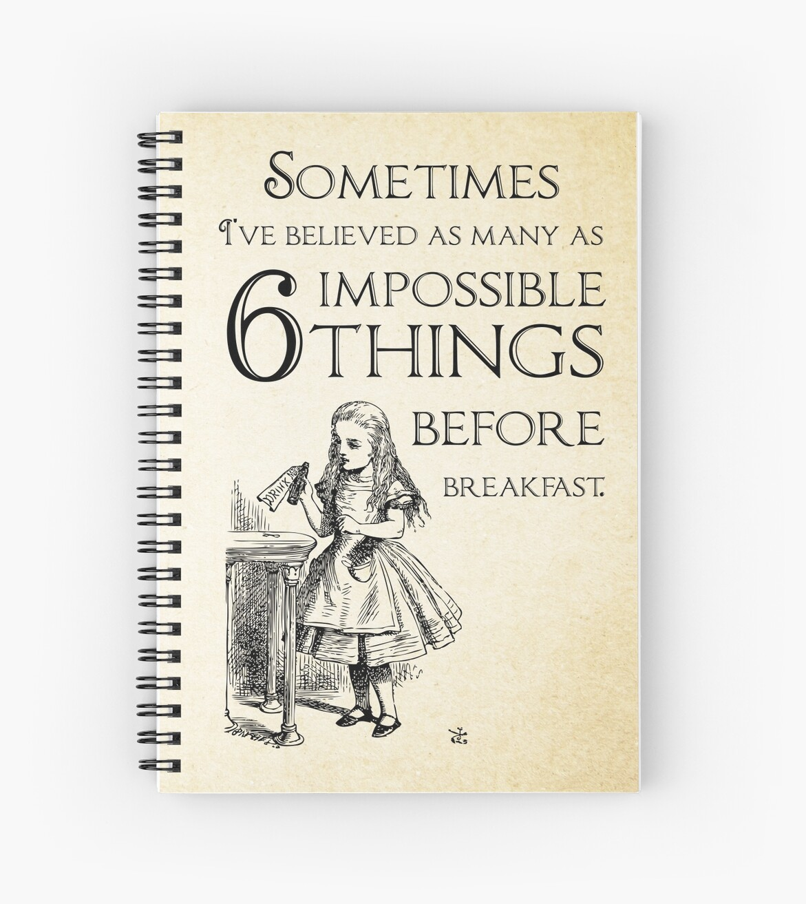 Alice In Wonderland Quote Alice In Wonderland Quote  Six Impossible Things  Lewis Carroll