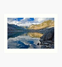 Bishop CA Sabrina Lake Fall Art Print