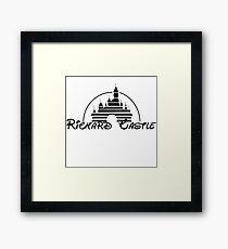 Richard Castle Framed Print