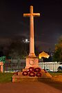 The Cross at Night: The Old Rugged Cross by DonDavisUK
