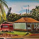 Guest House in Maya Itza by Steven Thomason