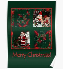 Xmas-patchwork  Poster