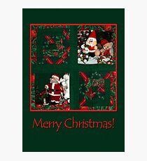 Xmas-patchwork  Photographic Print