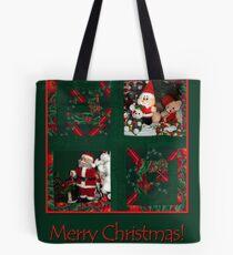 Xmas-patchwork  Tote Bag