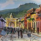 Main Street in Antigua by Steven Thomason