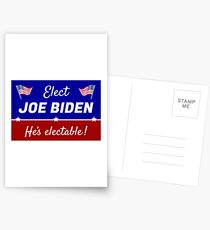 Elect Joe Biden: He's electable! Postcards