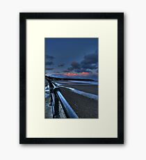 Filey HDR Framed Print